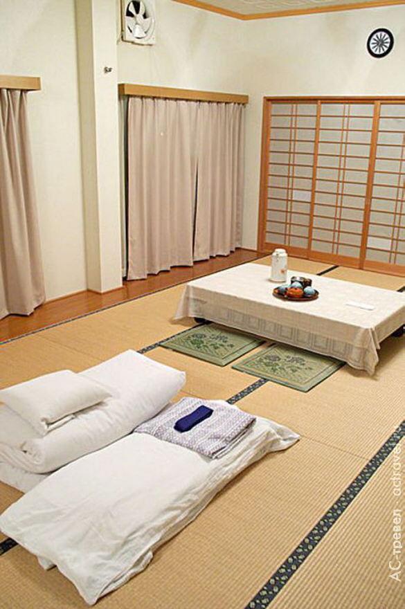 Отель. Ryokan_interior_matsukaze_matsumoto
